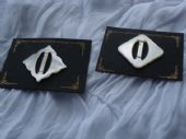 1920's/1930's Mother-of-Pearl Buckles on Original Card (SOLD)